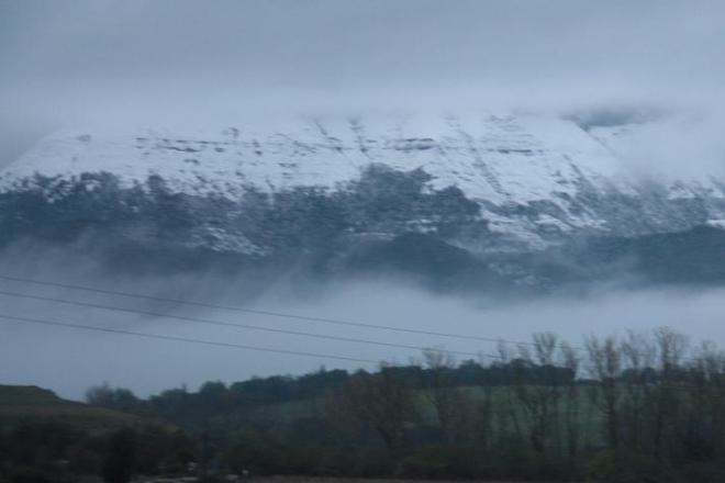 Las primeras nieves de este invierno