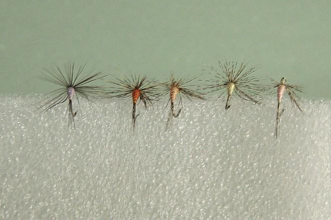 moscas para la trucha y reo