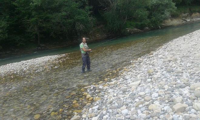 río Cares Deva